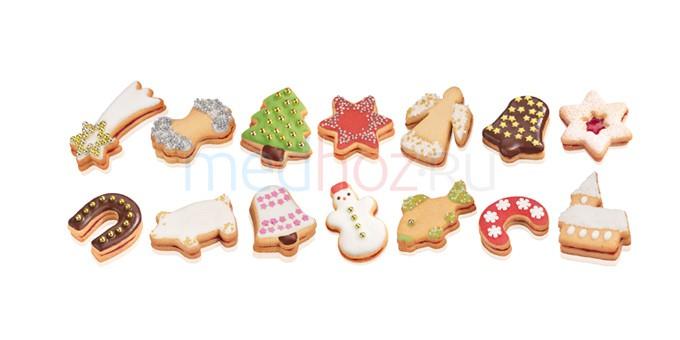 Формы печенья без формочек